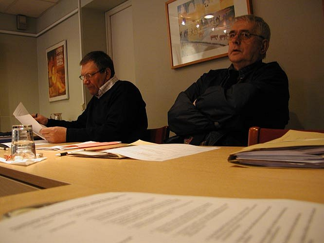 Göteborg 13. - 14.3.2005, pohjoismaisen puukkokilpailun suunnittelukokous