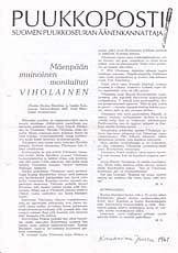 Puukkoposti 1/2000